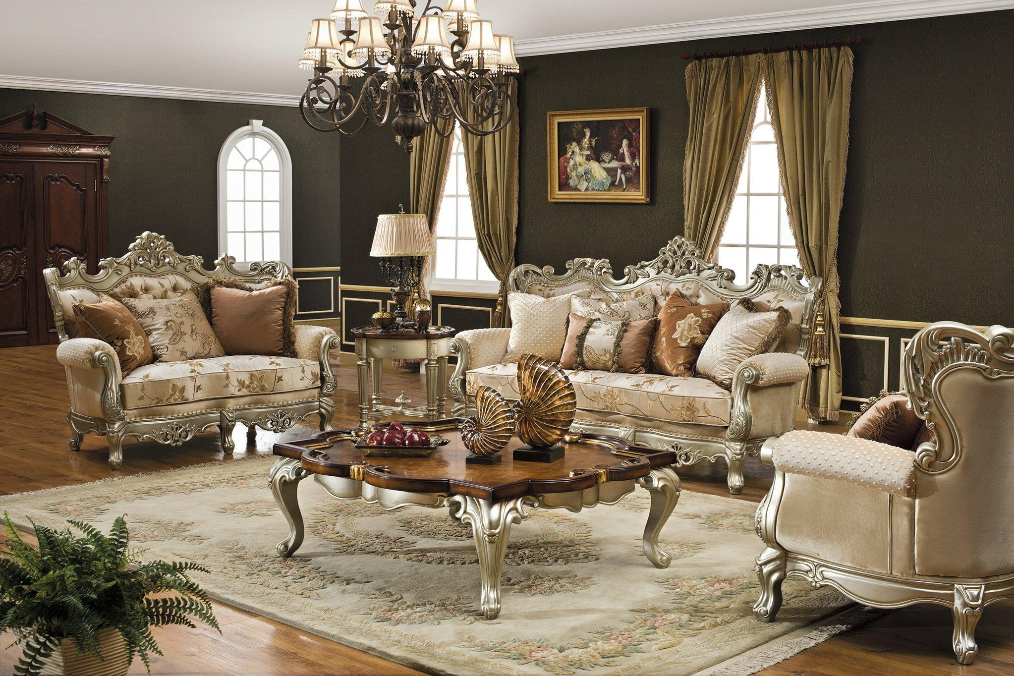 Sofas Center : Traditional Elegant Sofa Setstraditional Sets Set Throughout Elegant Sofas And Chairs (Image 20 of 20)