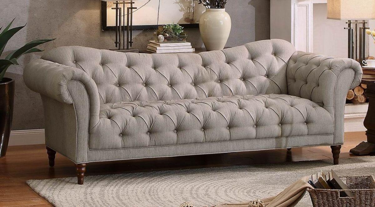 Sofas Center : Tufted Rolled Arm Sofa For Sale White Sofatufted In Traditional Sofas For Sale (View 18 of 20)
