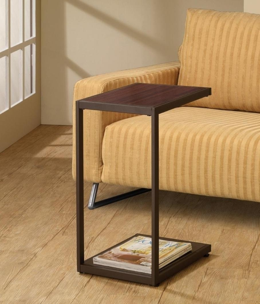 Sofas Center : Under Sofa Tray Table With Cup Holder Slide Holders With Regard To Under Sofa Tray Tables (Image 15 of 20)