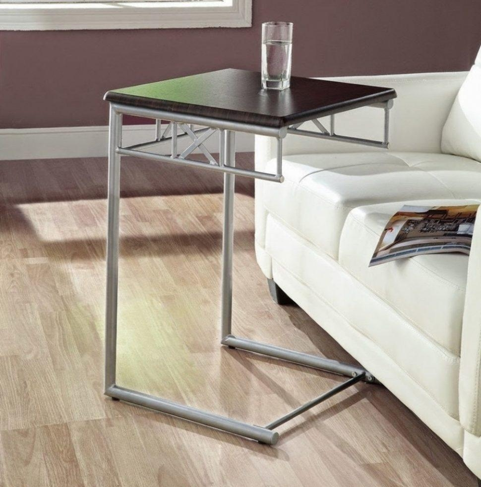 Sofas Center : Under Sofa Tray Table With Cup Holder Slide Holders With Regard To Under Sofa Tray Tables (Image 14 of 20)