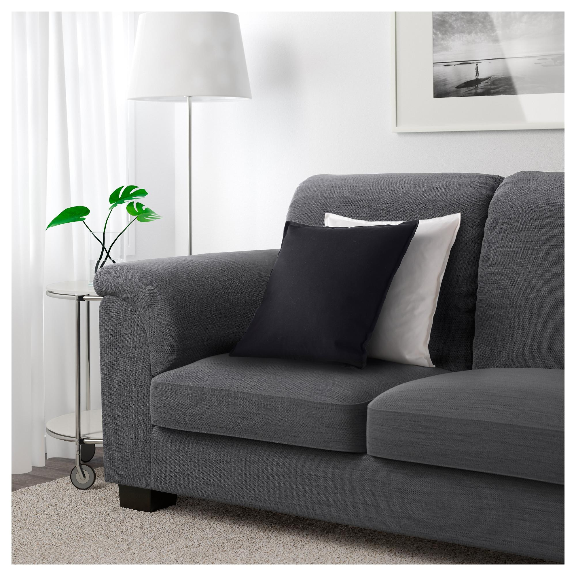 Sofas Center : Vallentuna Seat Corner Sofa Hillared Dark Grey Ikea With Unusual Sofa (Image 13 of 20)