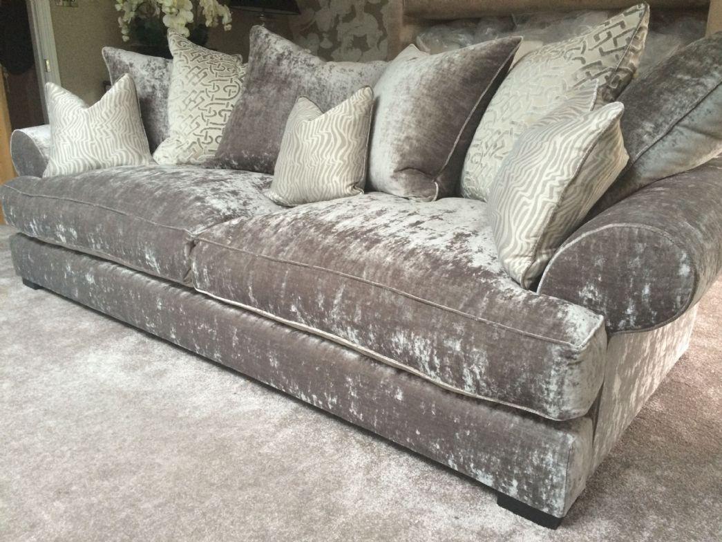 Sofas Center : Velvet Sofa Set Staggering Images Concept Armen Throughout Barrister Velvet Sofas (View 18 of 20)
