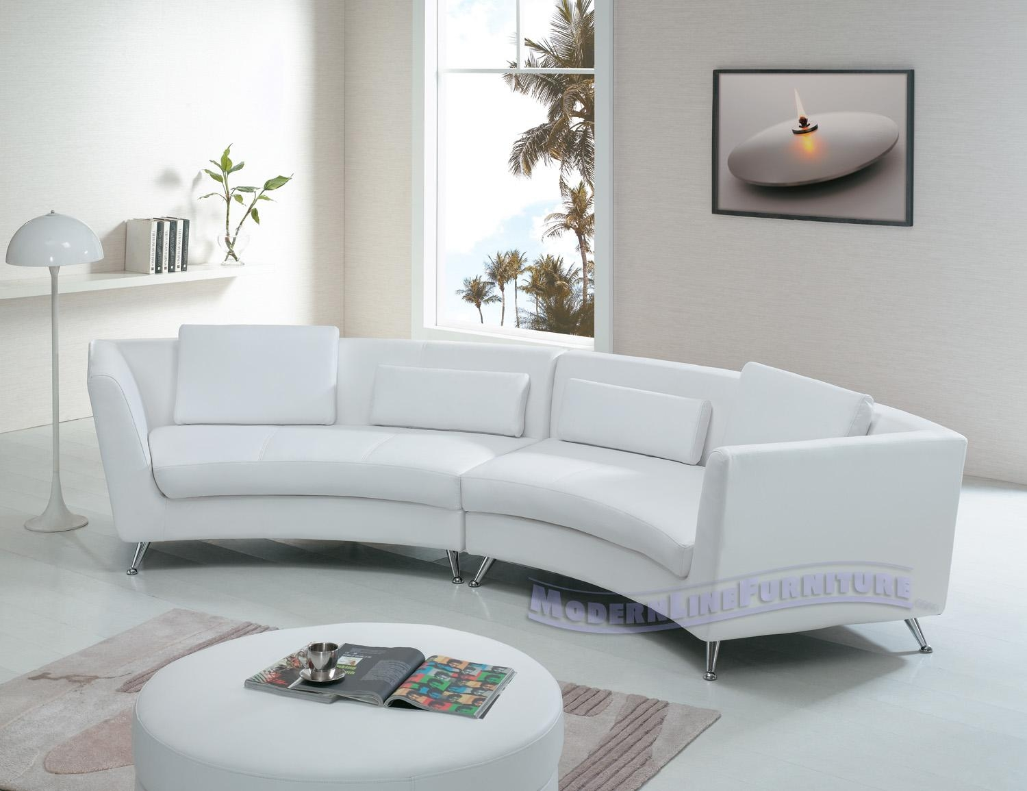 Sofas Center : White Leather Cornerfa Real Modern Sleeper Within Off White Leather Sofa And Loveseat (View 19 of 20)
