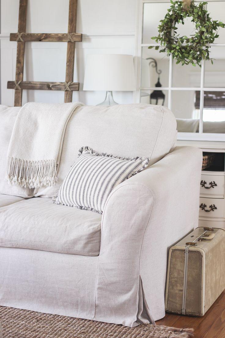 Sofas Center : White Slipcover Sofa Slipcovers For Namur Pertaining To Slipcover Style Sofas (View 18 of 20)