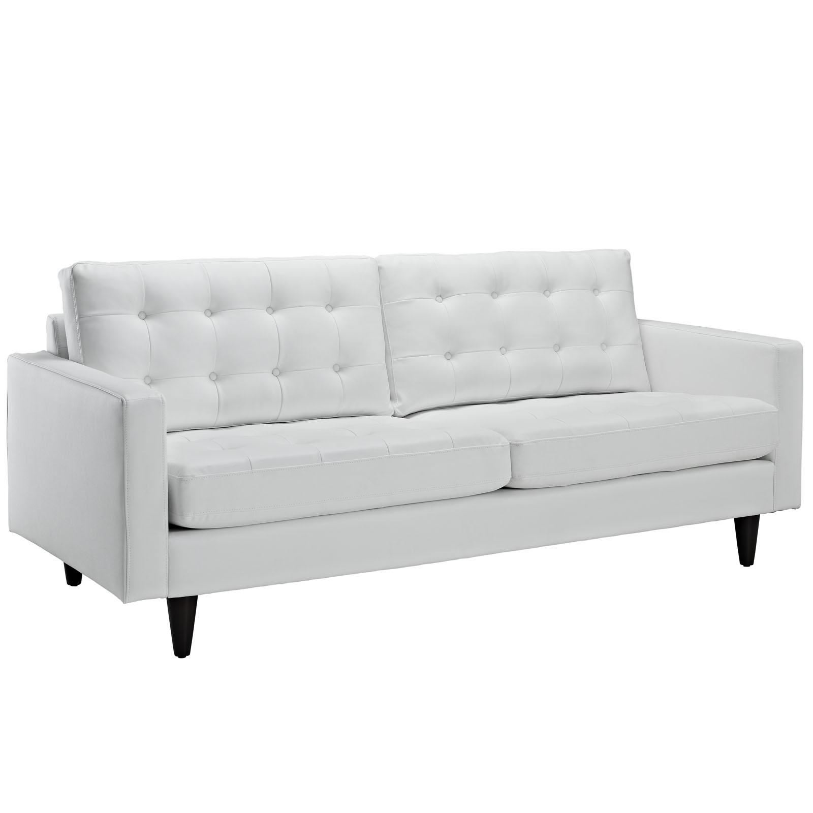 Sofas Center : White Sofa Chair Fabric Sofas Modern Contemporary Regarding White Sofa Chairs (View 5 of 20)
