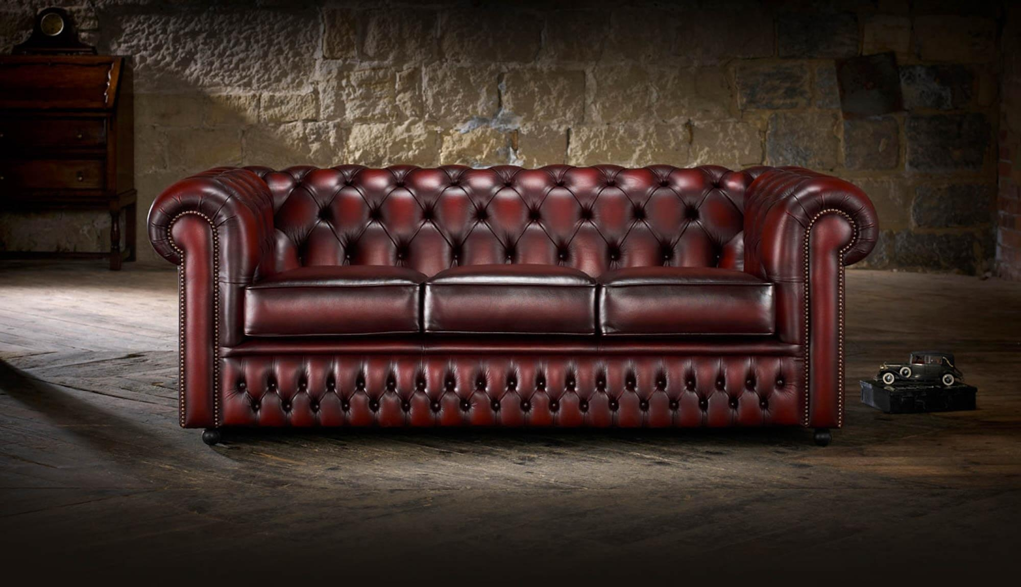 Sofas, Chesterfield & Club Chair Primer — Gentleman's Gazette In Red Leather Chesterfield Chairs (Image 20 of 20)