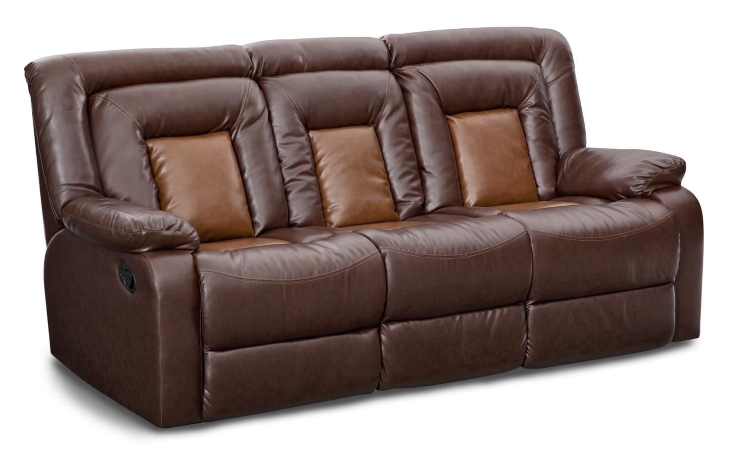 Sofas & Couches | Living Room Seating | Value City Furniture Inside Brown Sofa Chairs (View 18 of 20)