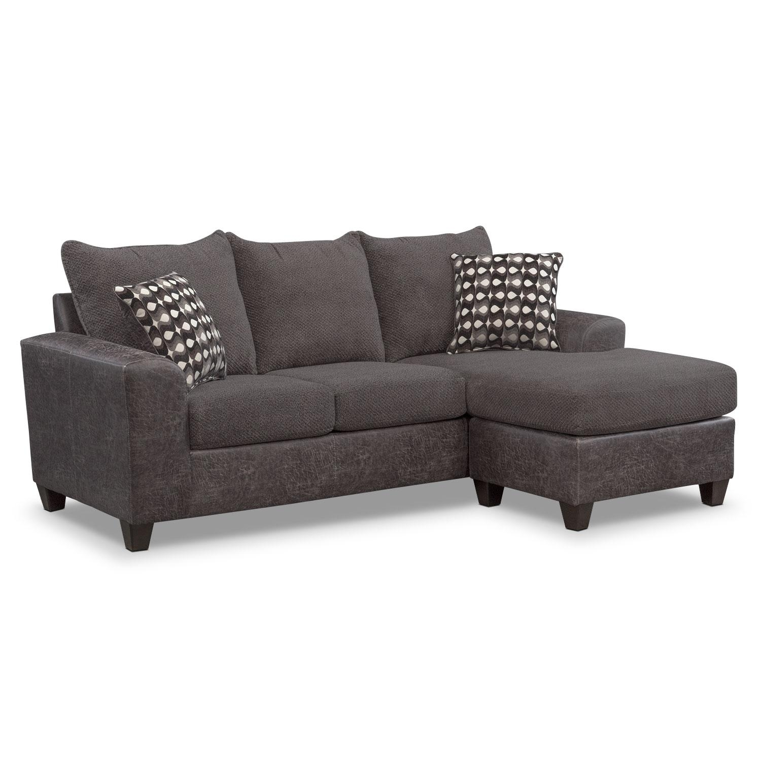 Sofas & Couches | Living Room Seating | Value City Furniture Throughout Overstuffed Sofas And Chairs (View 9 of 20)