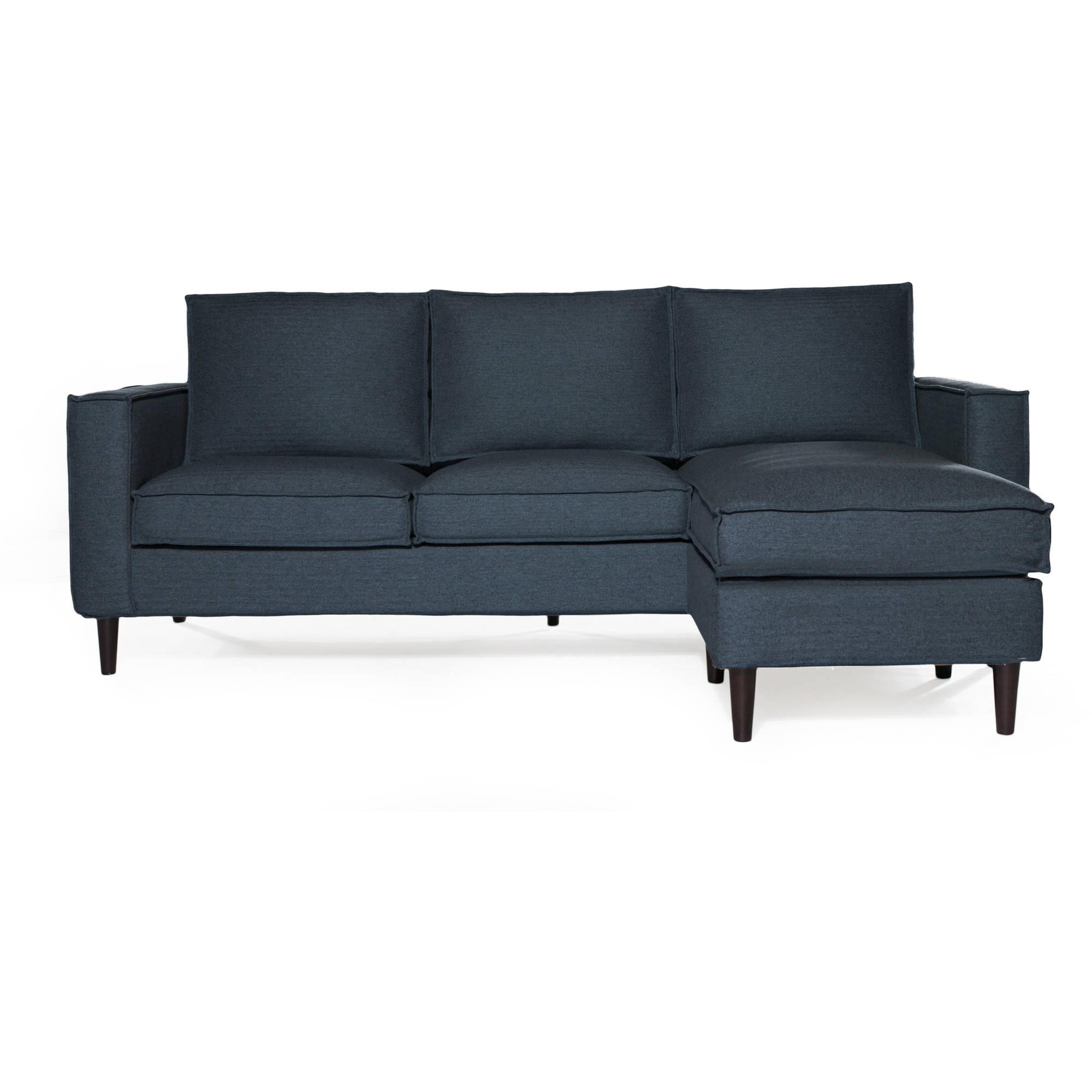 Sofas & Couches – Walmart For Gold Sectional Sofa (Image 12 of 15)