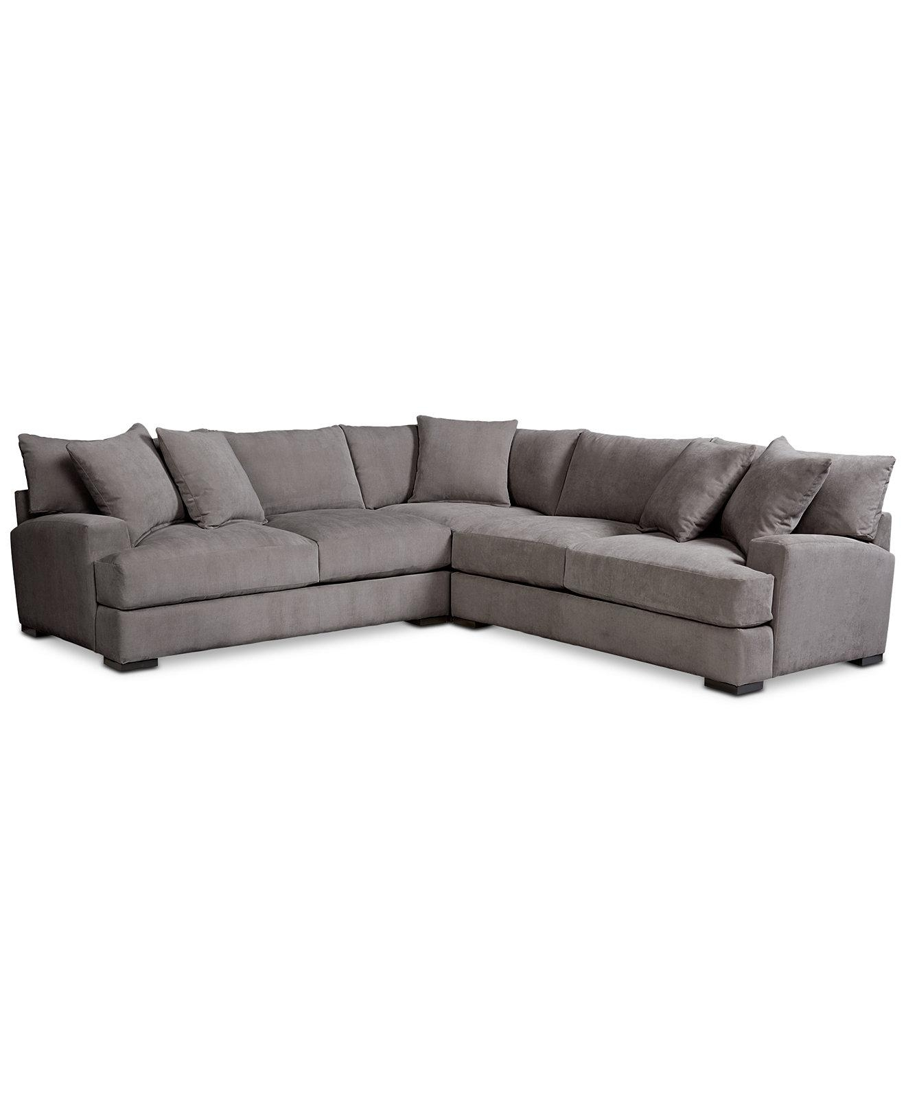 Sofas: Elegant Living Room Sofas Designmacys Sectional Sofa Regarding Macys Sectional (Image 17 of 20)
