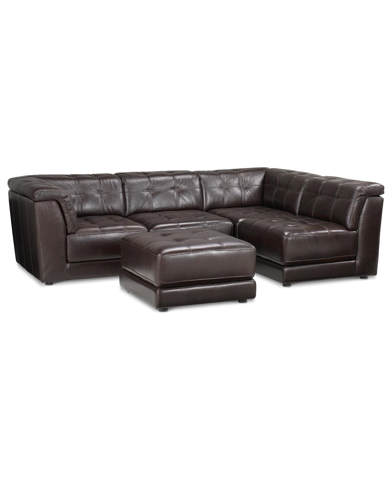 Sofas: Elegant Living Room Sofas Designmacys Sectional Sofa Throughout Macys Leather Sectional Sofa (Image 14 of 20)