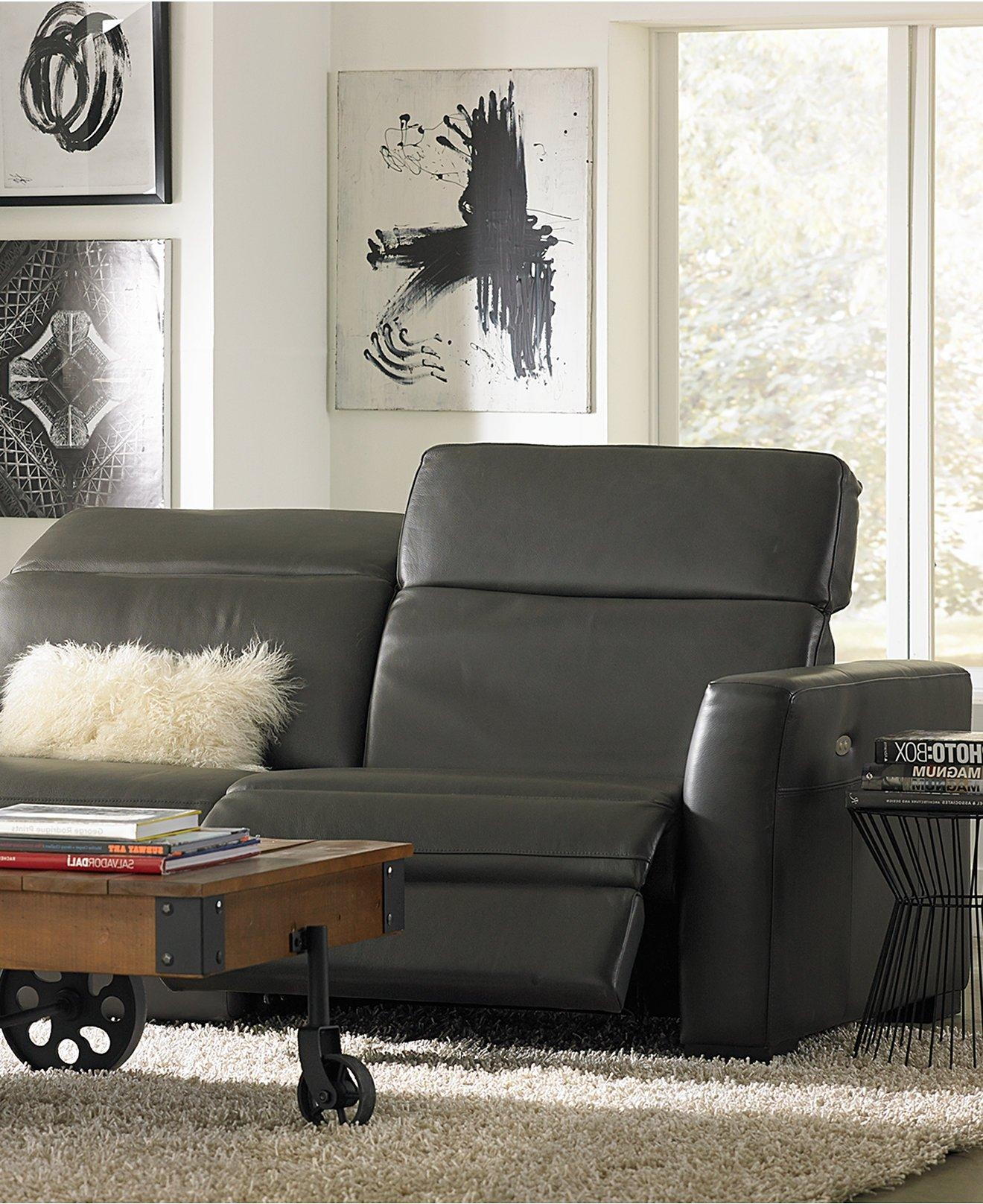 Sofas: Macys Leather Furniture | Macys Sectional | Macys Sectional Inside 6 Piece Leather Sectional Sofa (Image 12 of 15)