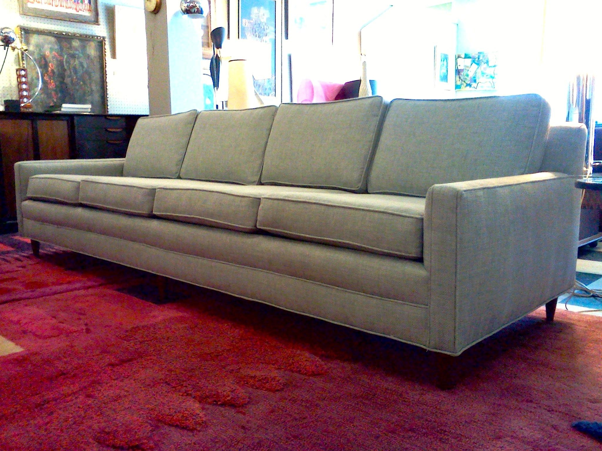 Sofas: Mid Century Modern Daybed | Contemporary Mid Century In Mid Century Modern Leather Sectional (View 20 of 20)