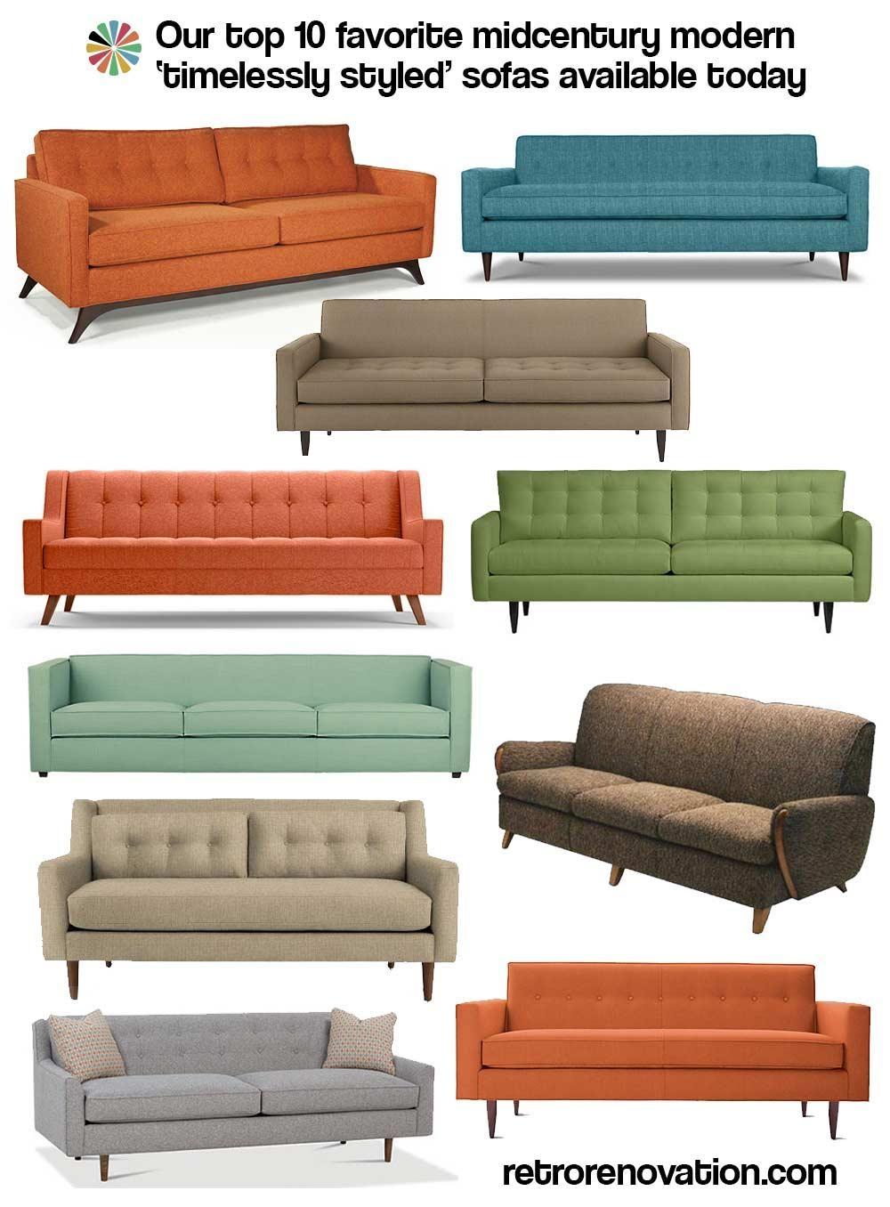 Sofas: Mid Century Sofas | Retro Sleeper Sofa | Cheap Retro Sofa In Cheap Retro Sofas (Image 14 of 20)