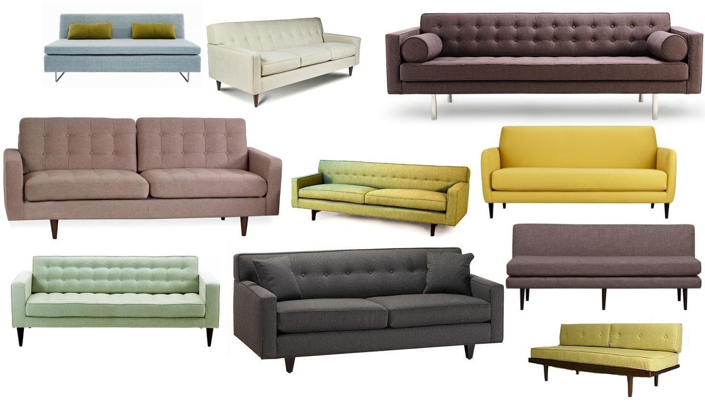 Sofas: Mid Century Sofas | Retro Sleeper Sofa | Cheap Retro Sofa Within Cheap Retro Sofas (Image 17 of 20)