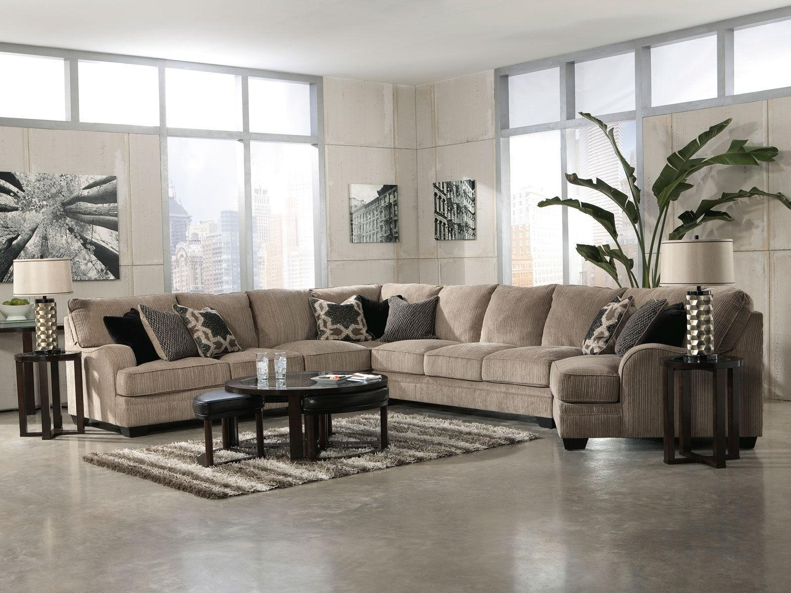 Sofas: Oversized Sofas | Ashley Sectional Sofa | Ashley Furniture Throughout Ashley Furniture Leather Sectional Sofas (Image 20 of 20)