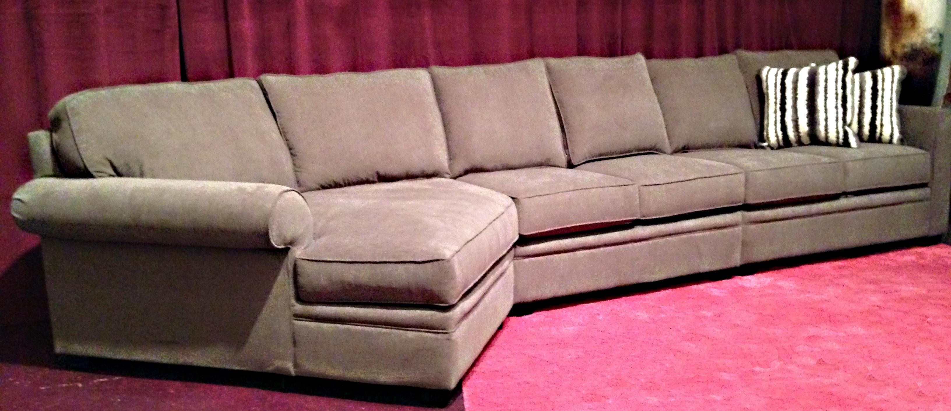 Sofas: Oversized Sofas That Are Ready For Hours Of Lounging Time Within Sectional With Oversized Ottoman (View 17 of 20)