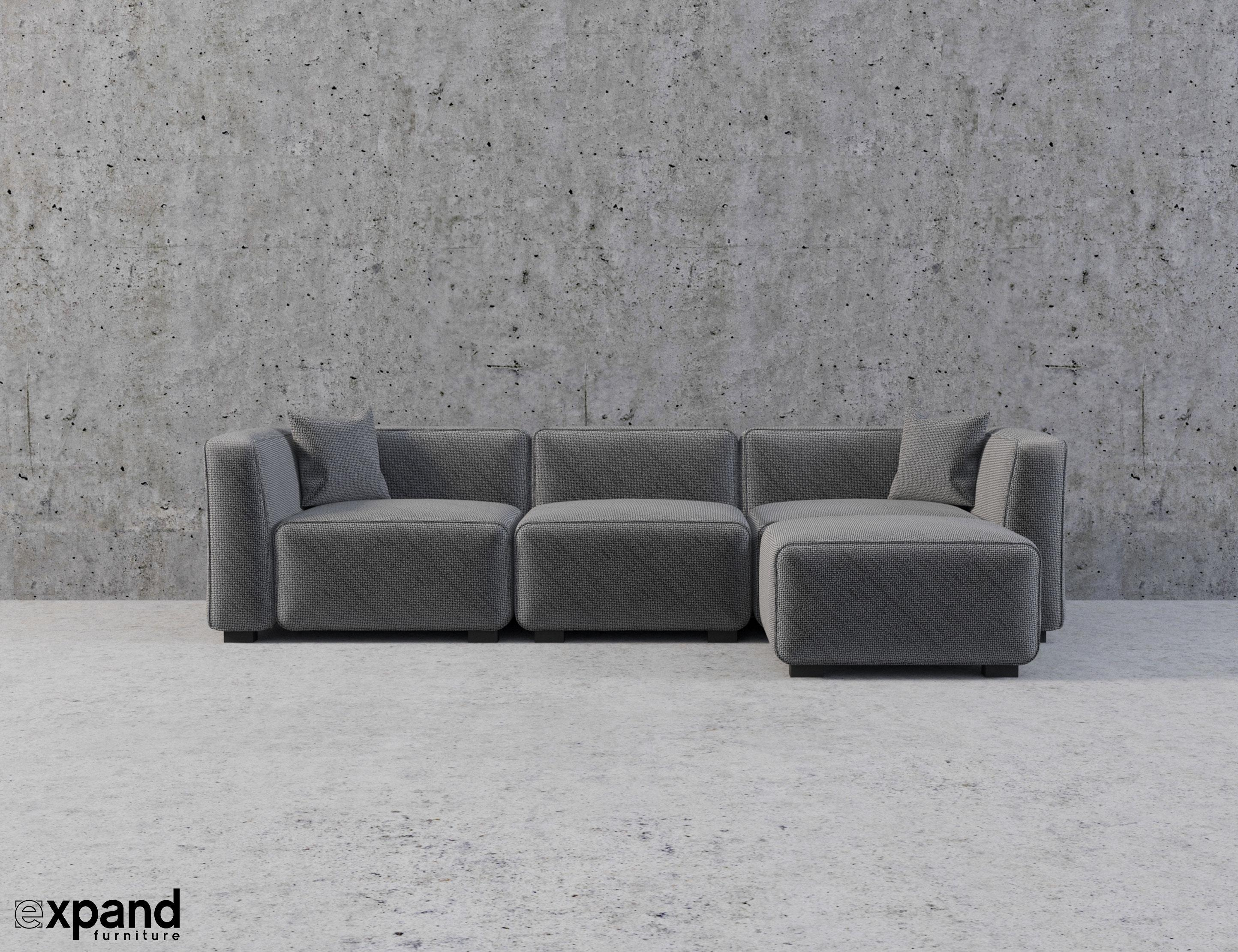 Soft Cube: Modern Modular Sofa Set | Expand Furniture – Folding Intended For Soft Sectional Sofas (View 20 of 20)