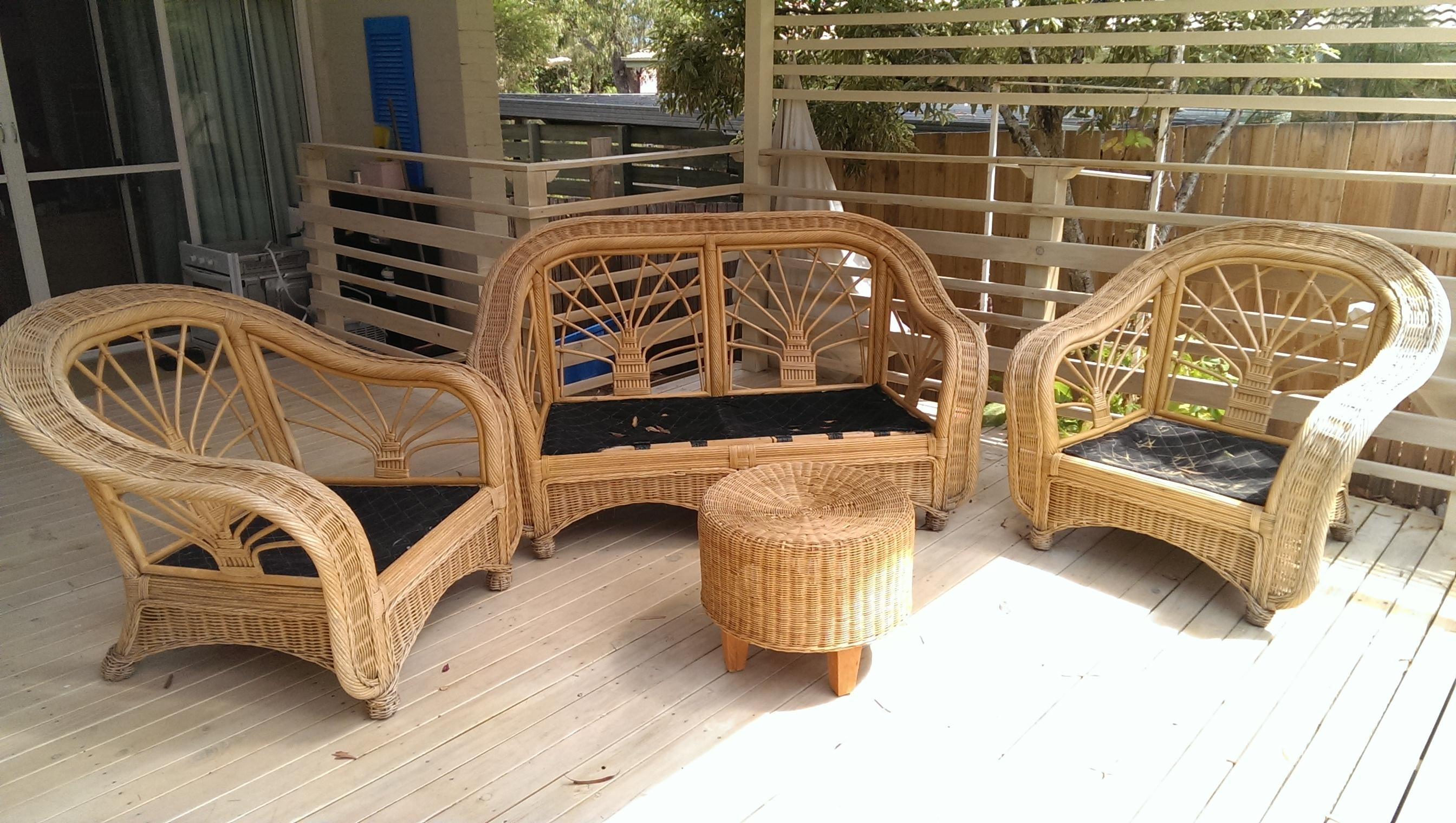 Something Wicker This Way Comes ( Or, How To Rejuvenate Old Cane With Cane Sofas (Image 17 of 20)