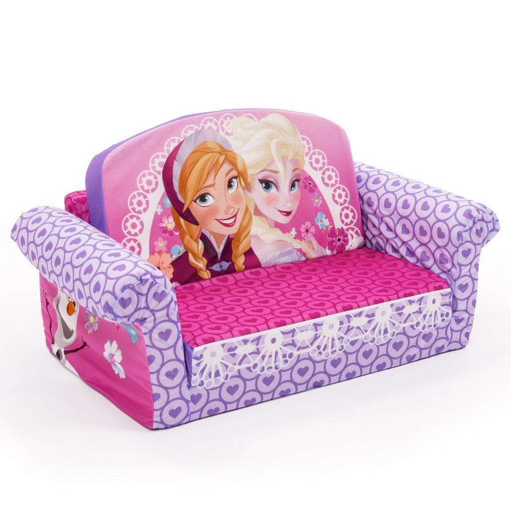 Spin Master – Marshmallow Furniture Flip Open Sofa Disney Frozen Regarding Flip Open Kids Sofas (Image 18 of 20)