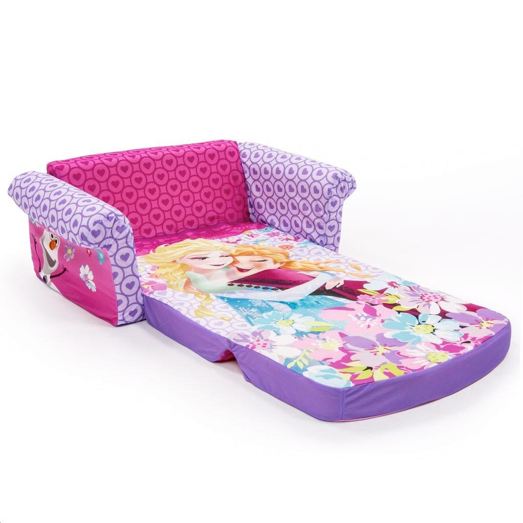 Spin Master – Marshmallow Furniture Flip Open Sofa Disney Frozen With Regard To Flip Open Couches (View 9 of 20)