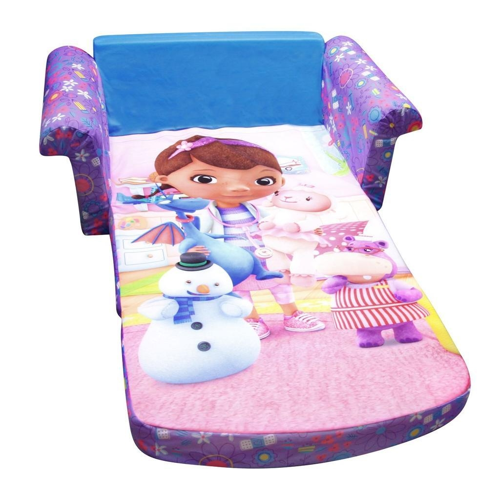 Spin Master – Marshmallow Furniture Flip Open Sofa Doc Mcstuffins In Kid Flip Open Sofa Beds (View 17 of 20)