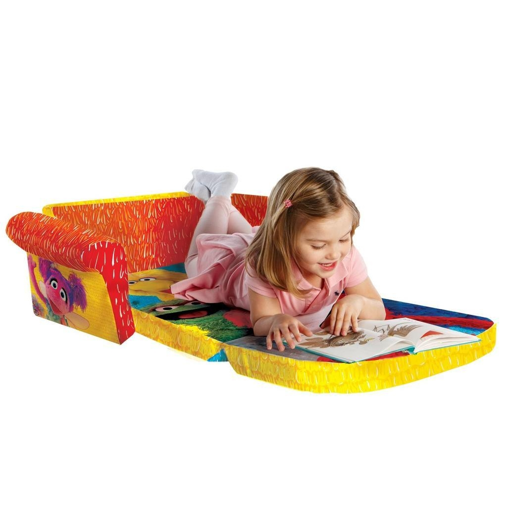 Spin Master – Marshmallow Furniture Flip Open Sofa Elmo/sesame Street Within Elmo Flip Open Sofas (Image 20 of 20)