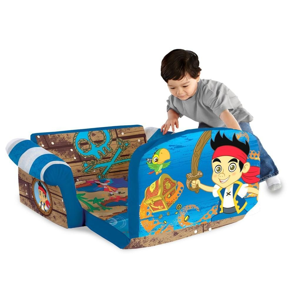 Spin Master – Marshmallow Furniture Flip Open Sofa Jake With Flip Open Kids Sofas (View 17 of 20)