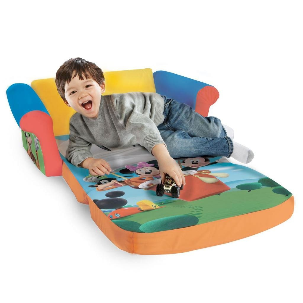 Spin Master – Marshmallow Furniture Flip Open Sofa Mickey Mouse For Mickey Fold Out Couches (View 15 of 20)