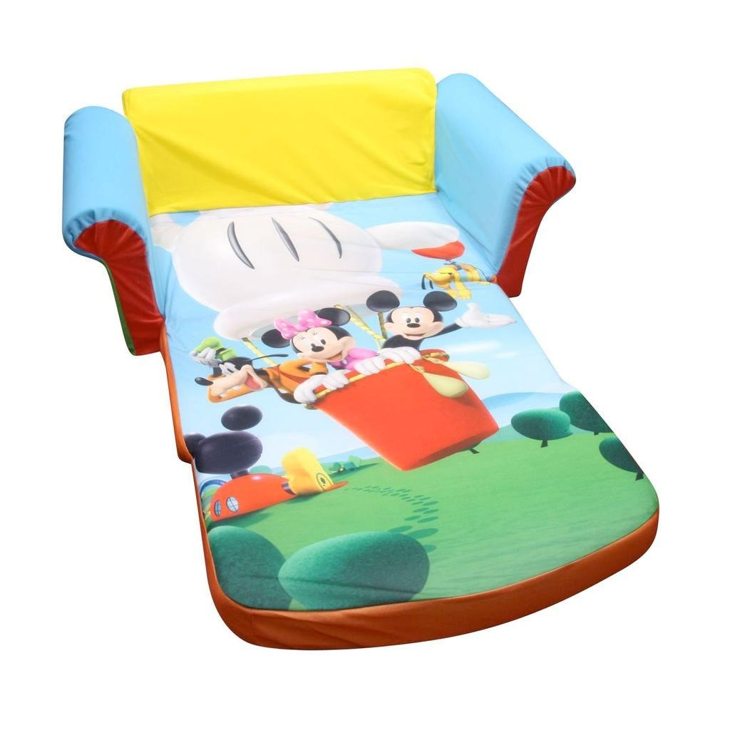 Spin Master – Marshmallow Furniture Flip Open Sofa Mickey Mouse Within Mickey Mouse Clubhouse Couches (View 2 of 20)