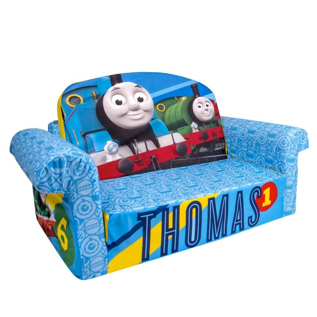 Spin Master – Marshmallow Furniture Flip Open Sofa Thomas The Tank Intended For Flip Open Couches (Image 18 of 20)