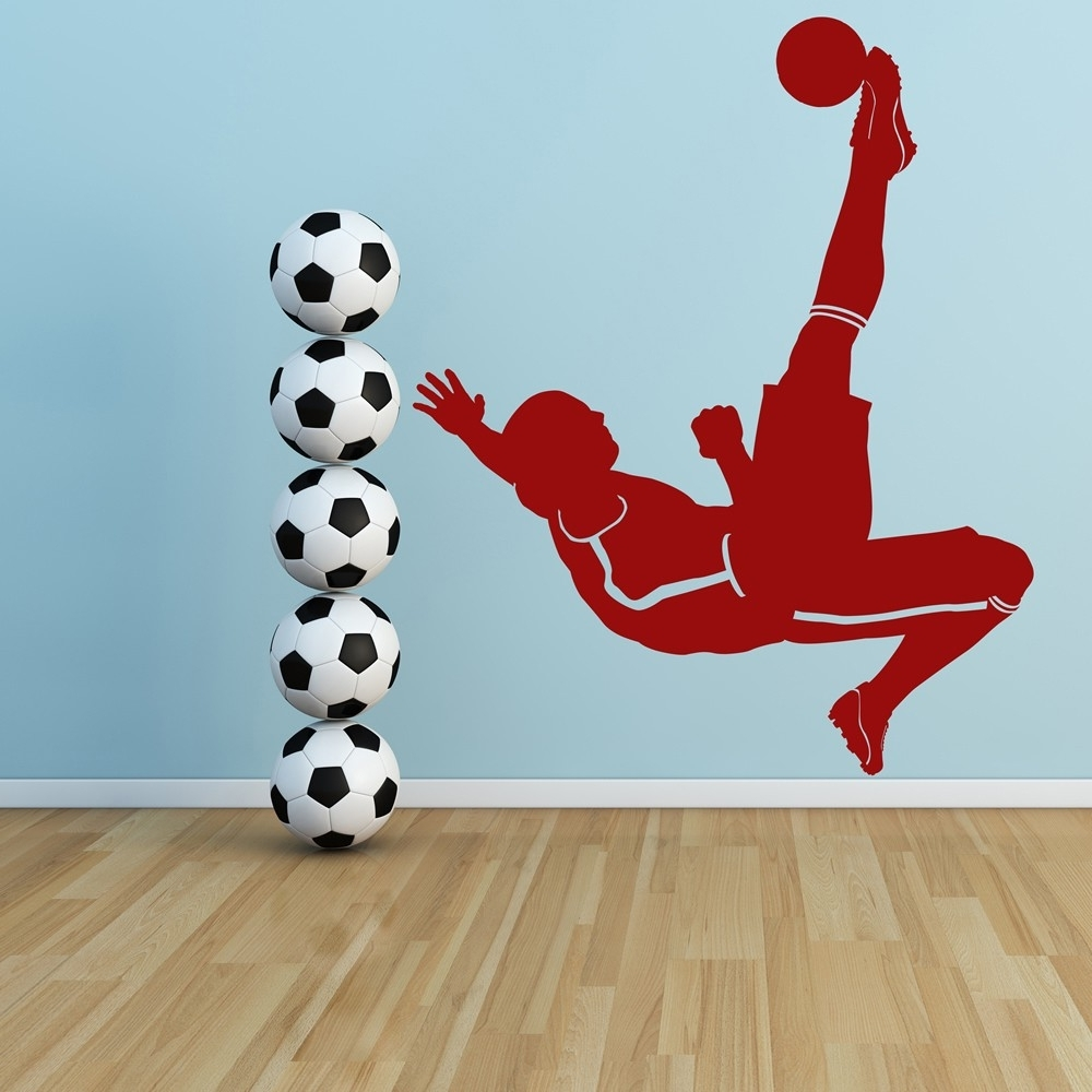 Featured Photo of Sports Wall Decals Bring Inspiration To Your Boy's Bedroom