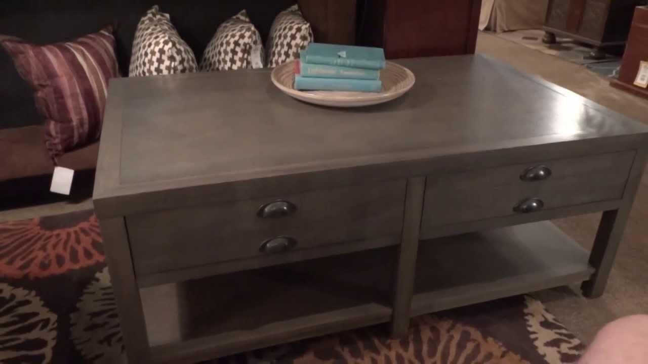 Stein World Furniture Bridgeport Table Collection 611 Review – Youtube Inside Bridgeport Sofas (Image 18 of 20)