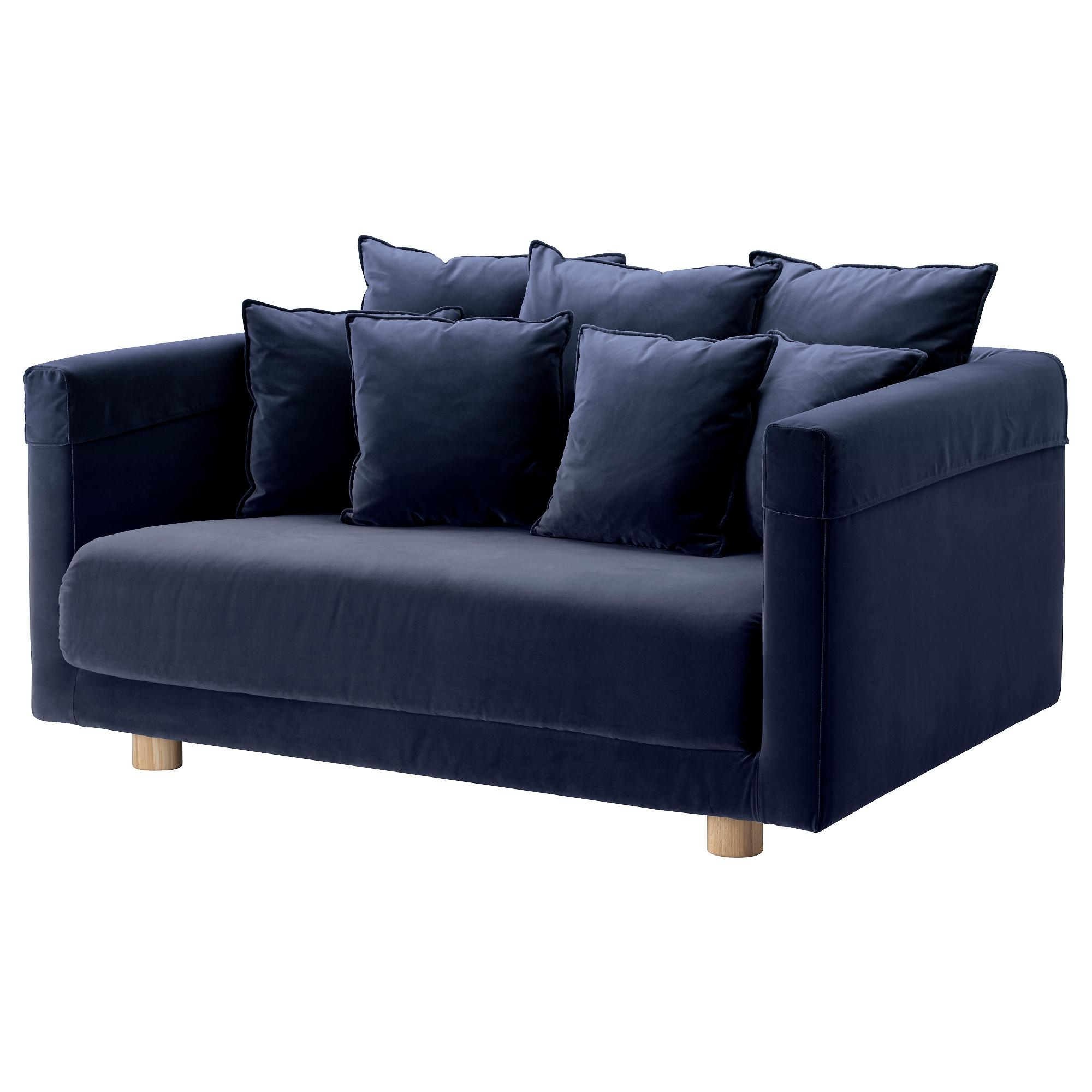 Stockholm 2017 Two Seat Sofa Sandbacka Dark Blue – Ikea Within Ikea Two Seater Sofas (View 10 of 20)