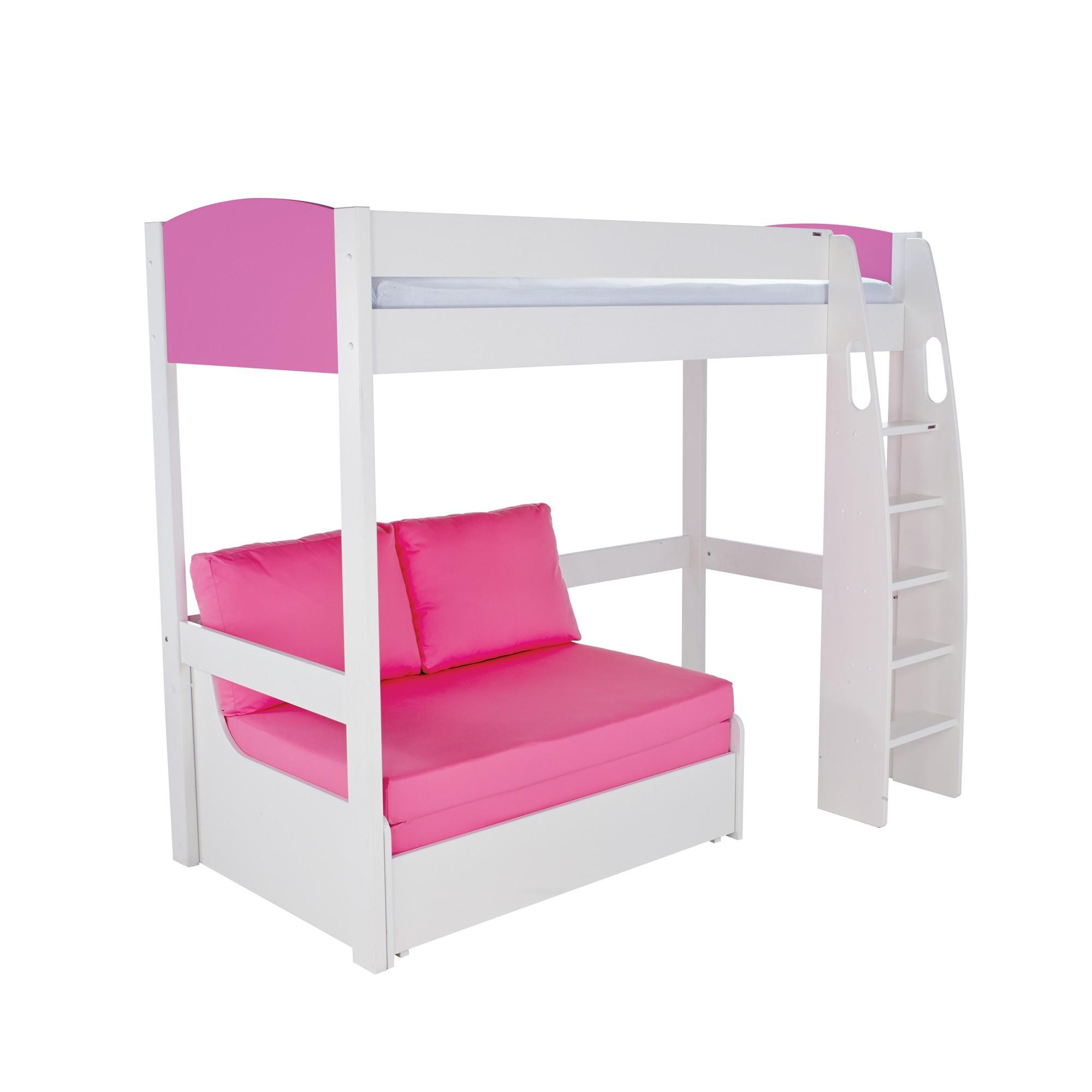 Stompa Duo High Sleeper And Sofa Bed – Highsleeper – Cookes Furniture In High Sleeper Bed With Sofa (View 13 of 20)