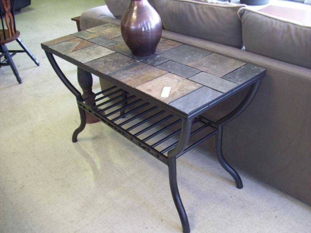 Stone Top Sofa Table – Bible Saitama Pertaining To Slate Sofa Tables (Image 20 of 20)