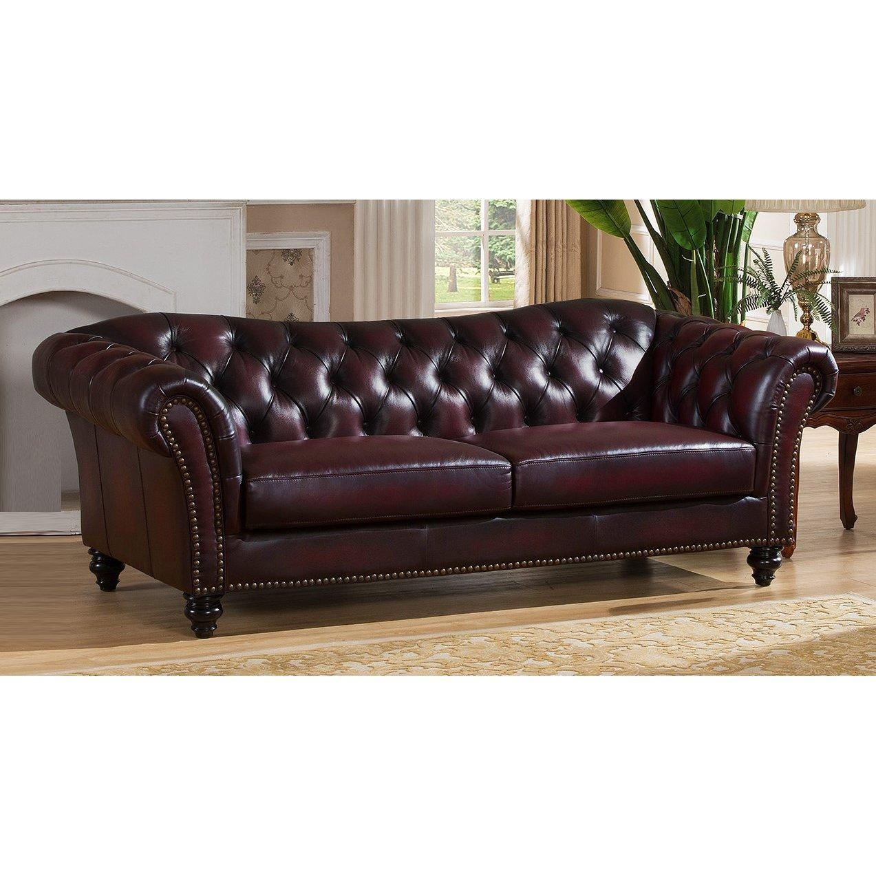 Storage Canterbury Leather Chesterfield Style 3 Seater Sofa Best In Canterbury Leather Sofas (View 2 of 20)