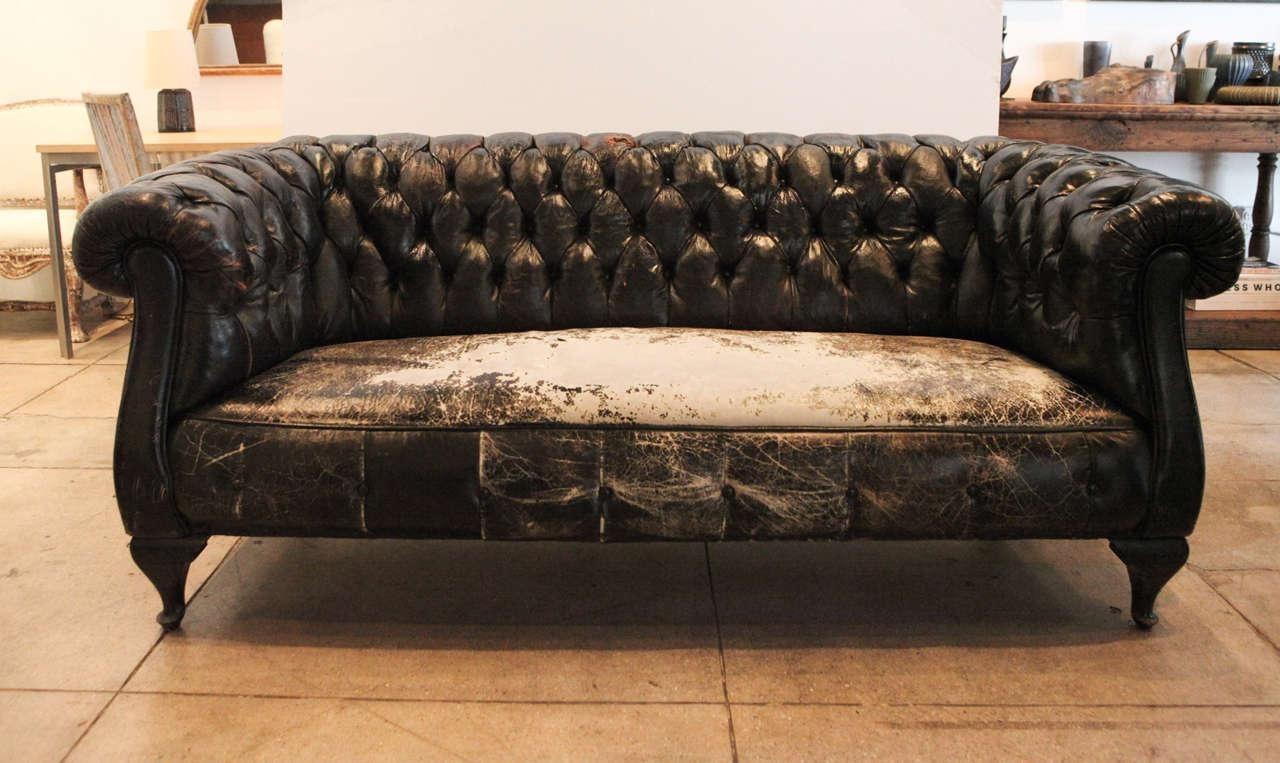 Storage Home Antiques Seating Antique Chesterfield Sofa Antique Inside Vintage Chesterfield Sofas (View 5 of 20)