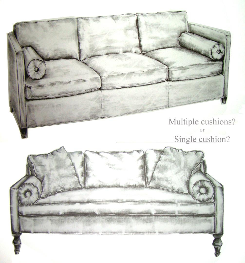 Storibook Designs Open Studio: Rumpus Rules: Deciding Between One In One Cushion Sofas (View 10 of 20)