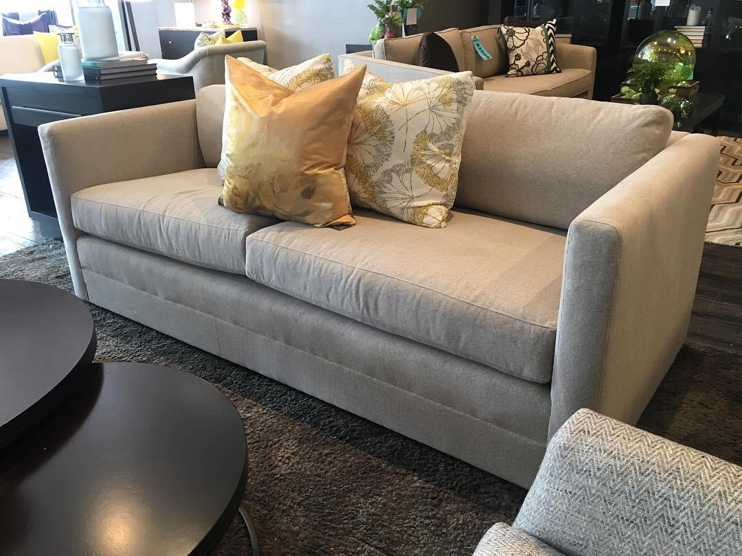 Stretch Out In Style With The Drake Sofa From Mitchell Gold + Bob Intended  For Mitchell