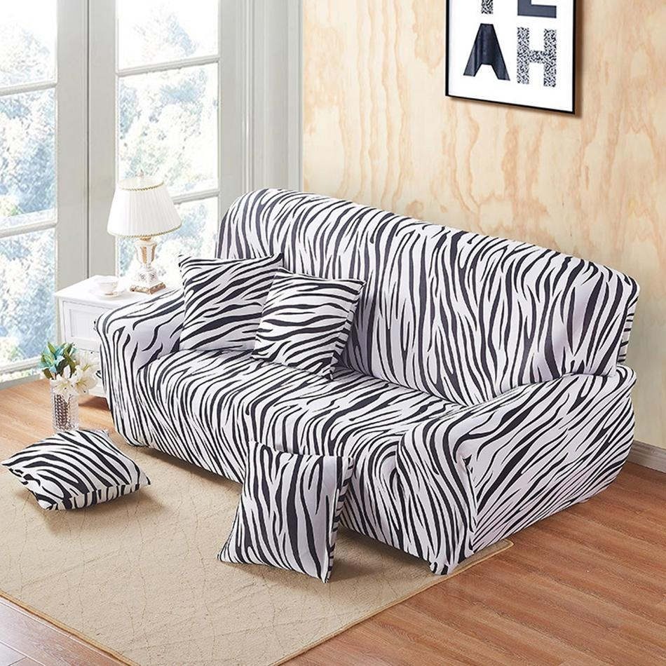 Striped Sofa Covers – Home Design Ideas And Pictures Within Striped Sofa Slipcovers (Image 18 of 20)