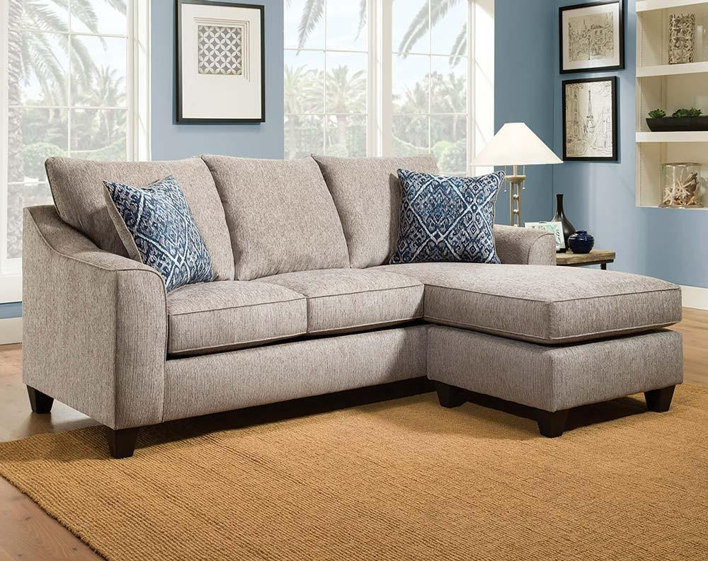 Stunning Down Filled Sectional With Nail Head Trim (Image 15 of 15)