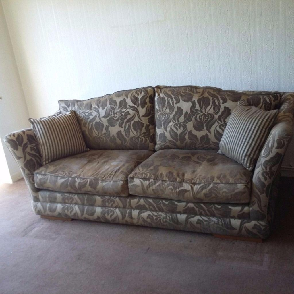 Stunning Large 4 Seater Sofa Plus Chair (Image 19 of 20)