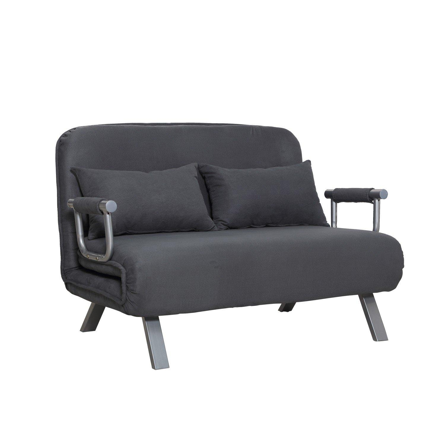 Suede Fabric Lounge Sofa Chair – Gray In Lounge Sofas And Chairs (View 15 of 20)