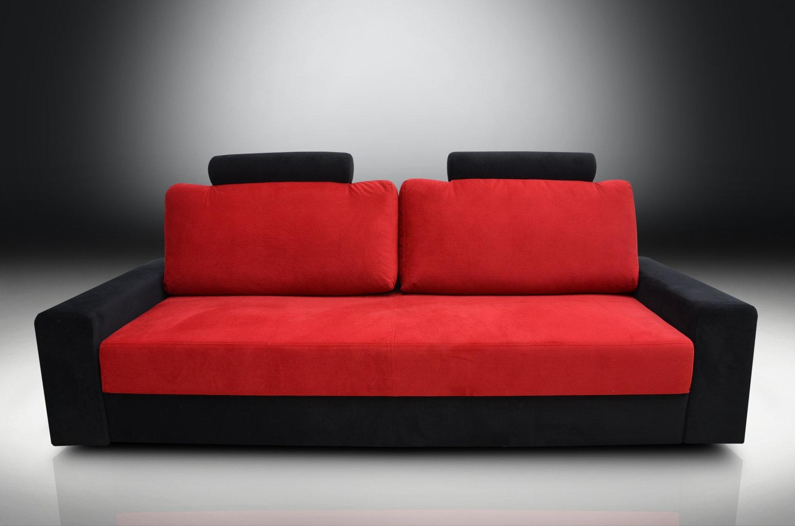 Superb Sofa Bed, Good Quality, Good Price, Fast Full Services Delivery Within Sofa Red And Black (Image 18 of 20)