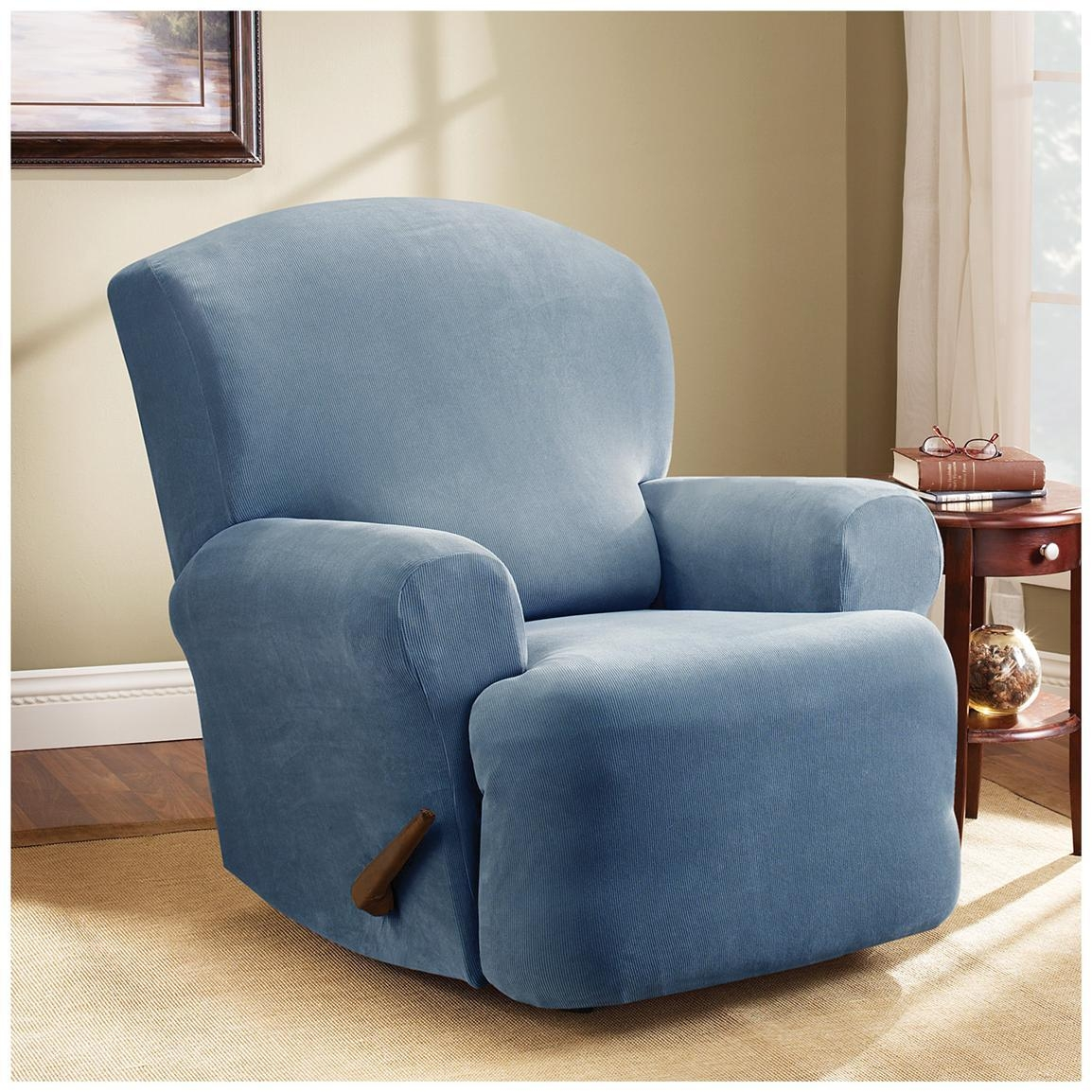 Sure Fit® Stretch Pearson Recliner Slipcover – 292825, Furniture Pertaining To Stretch Covers For Recliners (View 6 of 20)