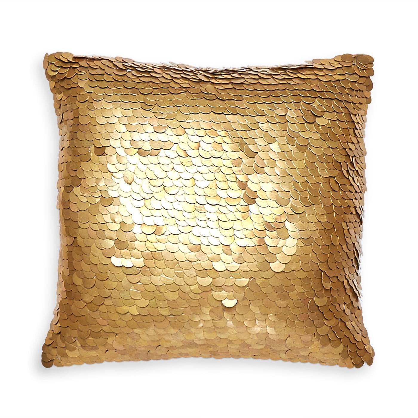 Talitha Discs Throw Pillow | Modern Décor & Pillows | Jonathan Adler Throughout Gold Sofa Pillows (Image 19 of 20)