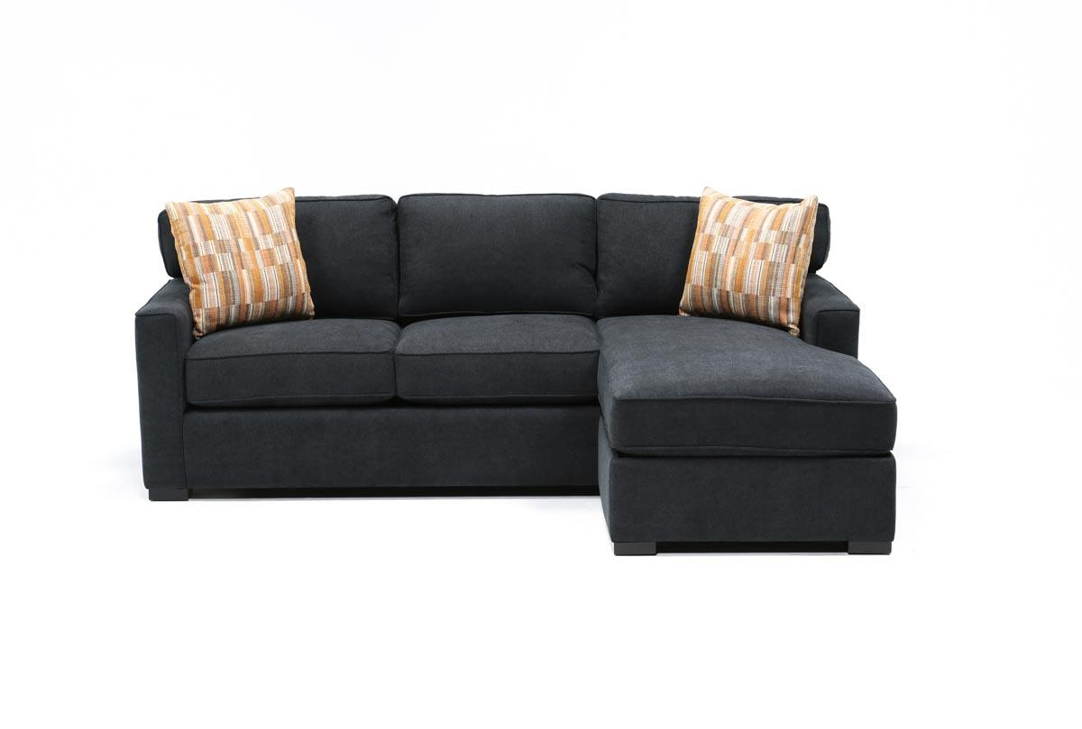 Taren Reversible Sofa/chaise Sleeper W/storage Ottoman – Living Spaces For Sofa With Chaise And Ottoman (View 19 of 20)