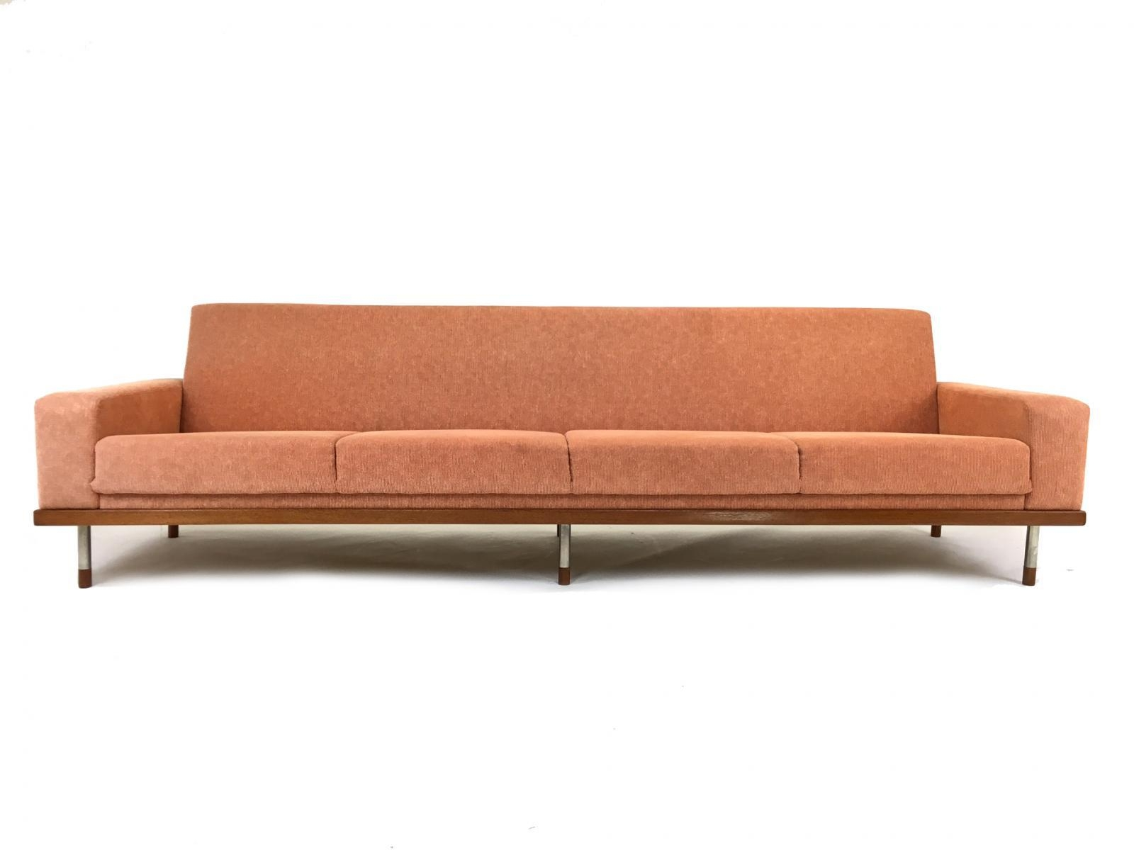 Teak Four Seater Sofa, 1960S For Sale At Pamono For Four Seater Sofas (Image 17 of 20)
