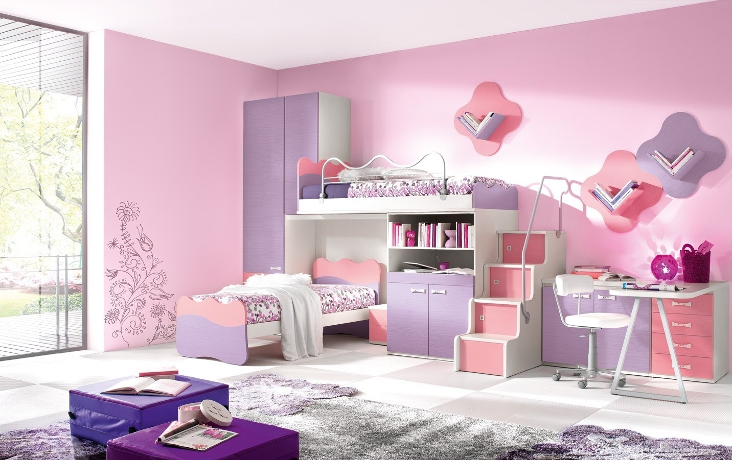 Teenage Girls Room Designs | Fujizaki In Girls Room (Image 24 of 24)